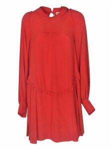 N.21 Ruffled Trim Dress