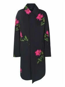 Dries Van Noten Flower Print Coat