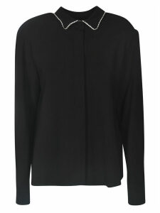 MSGM Metallic Collar Blouse