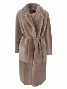 Blancha Belted Long Coat