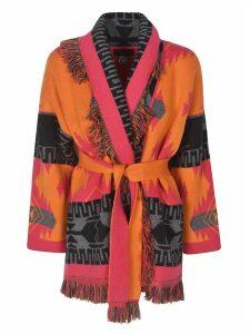 Alanui Frayed Cardi Coat
