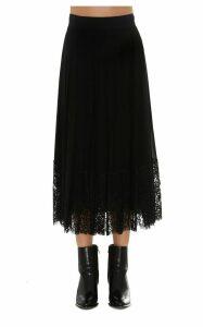 Dolce & Gabbana Lace Detail Skirt