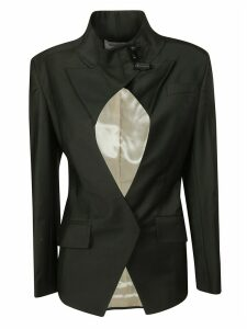 Situationist Cut-out Detail Blazer