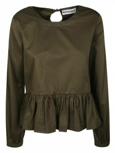 Molly Goddard Ruffled Hem Top