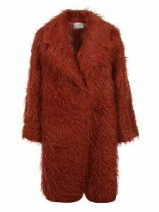Forte Forte Mohair Fur Midi Coat