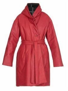 Isaac Sellam Drolatique Leather Down Coat
