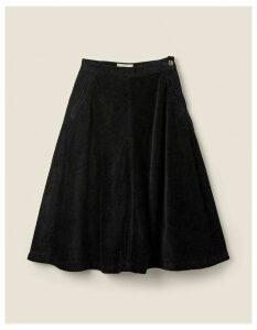 Fat Face Carly Cord Midi Skirt