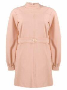 Victoria Victoria Beckham gemstone belt mini dress - Pink