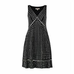 MICHAEL Michael Kors Embellished Georgette Dress