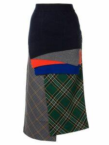 Enföld layered midi skirt - Multicolour