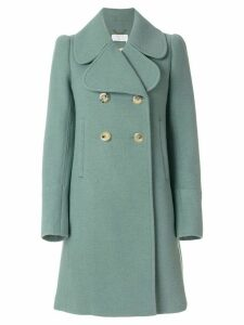 Chloé oversized collar double breasted coat - Green