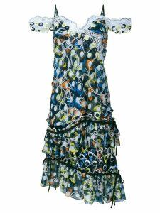 Peter Pilotto 'Cord' sleeveless dress - Black