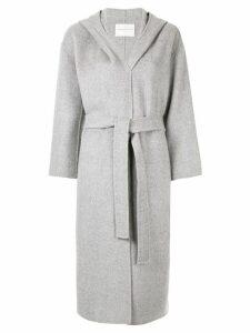 Tomorrowland belted waist coat - Grey