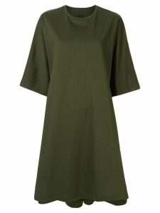 Juun.J Synthesize oversized T-shirt dress - Green