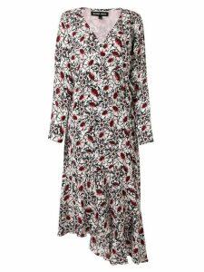 Markus Lupfer floral asymmetric dress - Multicolour