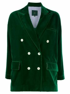 Jejia double breasted relaxed blazer - Green