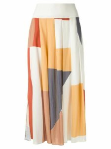 Alcaçuz Mundial printed skirt - Multicolour