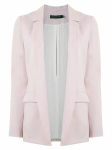 Andrea Marques open front blazer - PINK