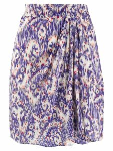 Isabel Marant Étoile Yogurt abstract print skirt - Blue