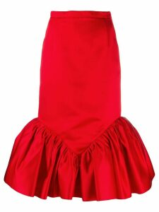 Christopher Kane cupcake midi skirt - Red