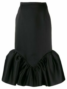 Christopher Kane cupcake midi skirt - Black