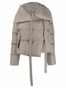 Bacon padded short jacket - Neutrals
