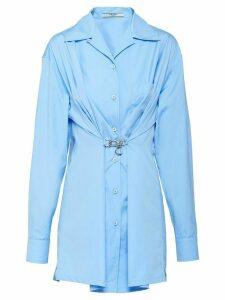 Prada Egyptian poplin shirt - Blue