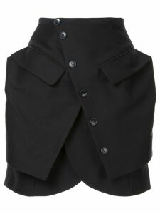 Jacquemus La Jupe Murano skirt - Black