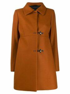 Fay A-line coat - Brown