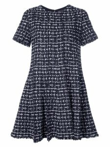Oscar de la Renta tweed swing dress - Black