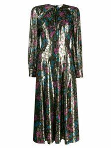 Sandro Paris jacquard print dress - Green