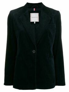 Tommy Hilfiger fitted corduroy blazer - Blue