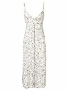 Sir. Haisley button down midi dress - White