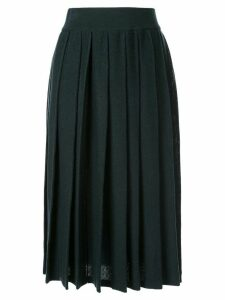 Agnona pleated skirt - Green