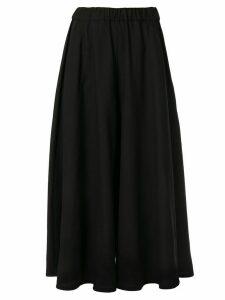 Aspesi wide leg skirt trousers - Black