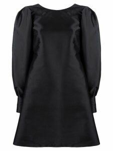 L'Autre Chose balloon sleeve short dress - Black