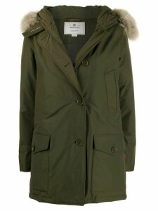 Woolrich Arctic down parka coat - Green