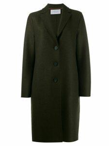 Harris Wharf London single breasted coat - Green