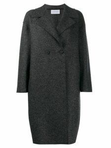 Harris Wharf London double breasted coat - Grey