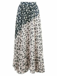 Jill Jill Stuart floral-print pleated skirt - White