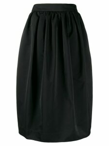 Rochas full midi skirt - Black