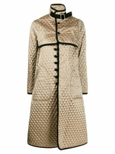 Comme Des Garçons Noir Kei Ninomiya diamond quilt coat - GOLD