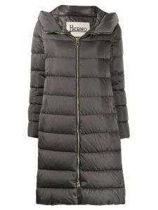 Herno Raso long overcoat - Grey