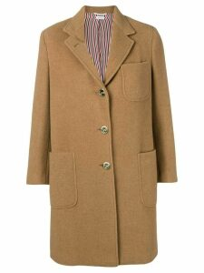 Thom Browne Camel Hair Sack Overcoat