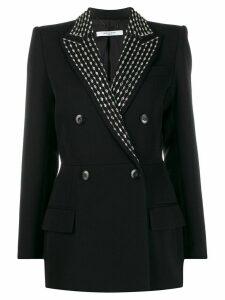 Givenchy crystal embellished double-breasted blazer - Black