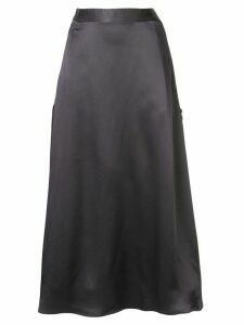 Lorena Antoniazzi zip detail midi skirt - Grey