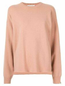 Extreme Cashmere crew neck sweaterr - Pink