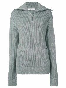 Proenza Schouler White Label chunky rib knit jumper - Grey