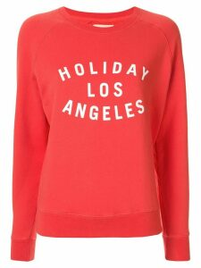 Holiday Los Angeles logo sweatshirt - ORANGE