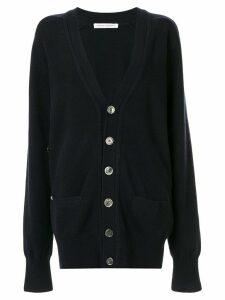 Extreme Cashmere classic oversized v-neck cardigan - Black